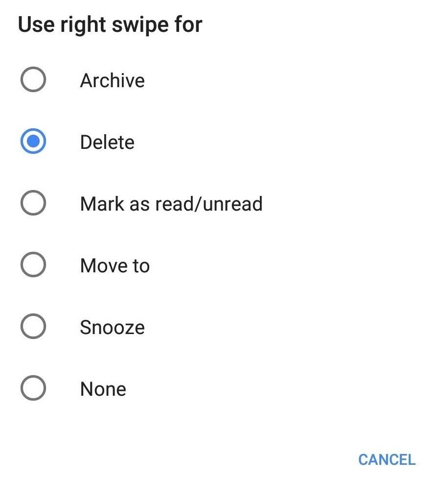 Customize Gmail's Swipe Actions So They're Not Just 'Delete' & 'Archive'