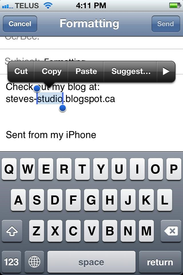 How to Add Formatting to Emails Using Your iPhone's Mail App