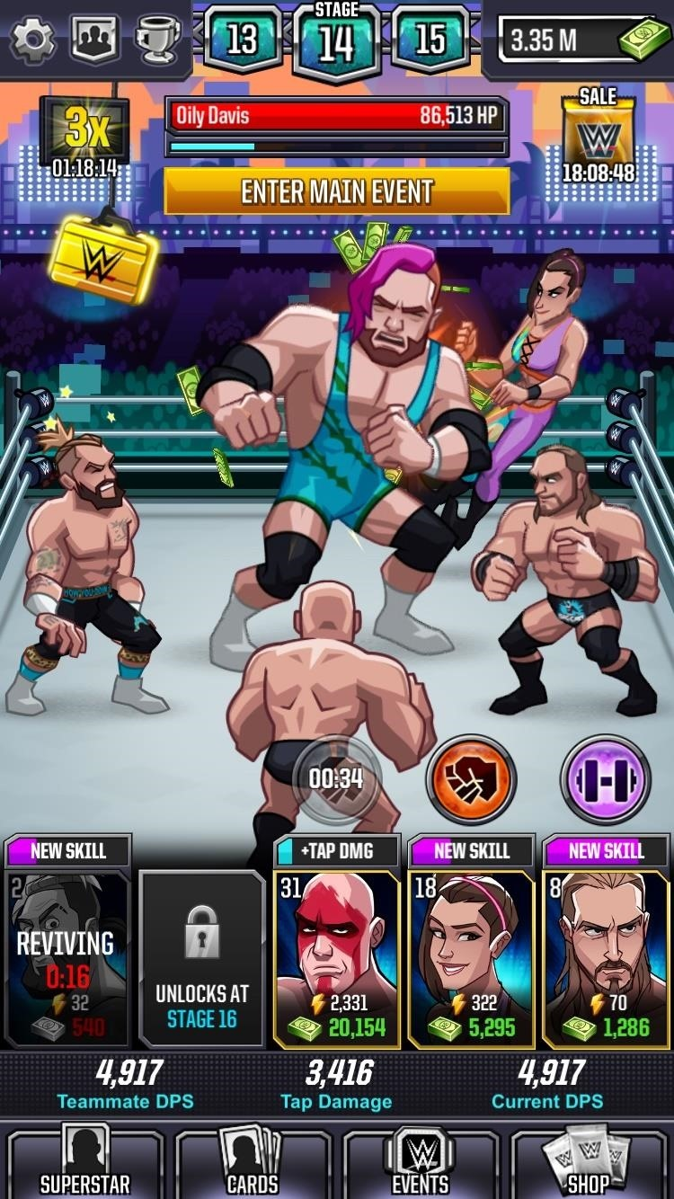 Review: WWE Tap Mania Drives Game Reviewer to Brink of Madness