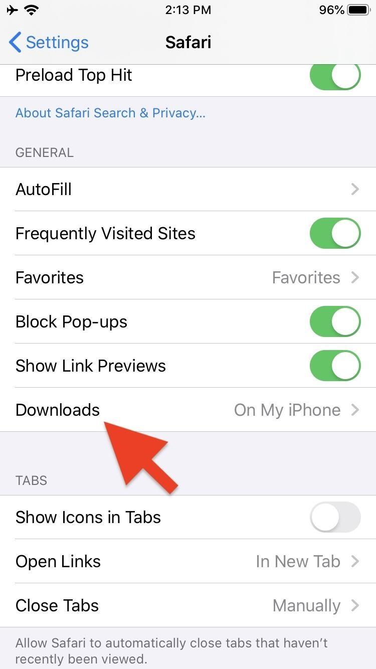 Ios 9 Safari Download File