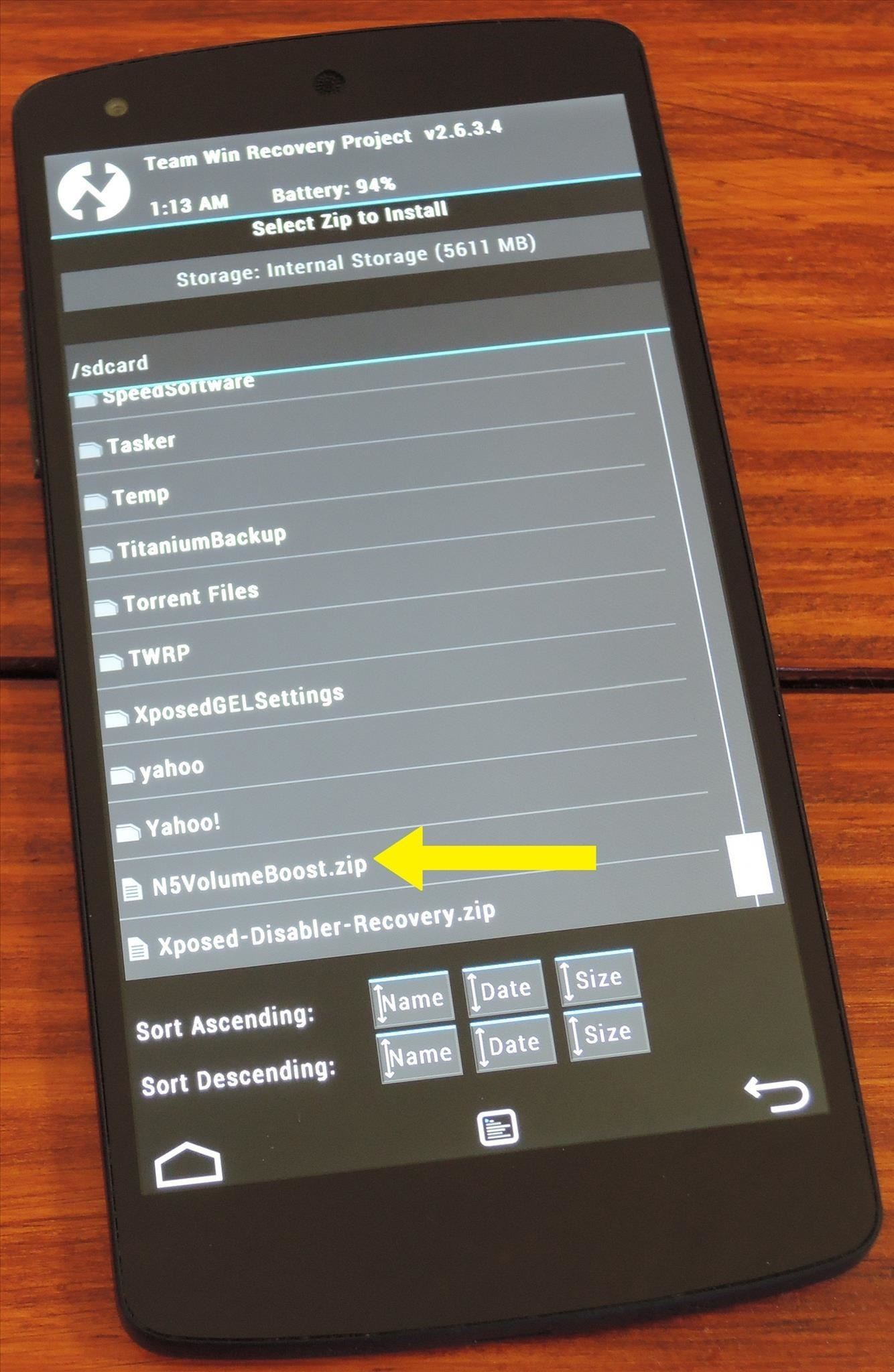 How to Boost Headset & Speaker Volumes on Your Nexus 5