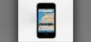 Use GPS maps and the compass on the Apple iPhone 3G