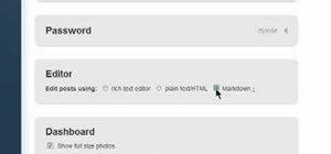 Change your Tumblr blog account settings