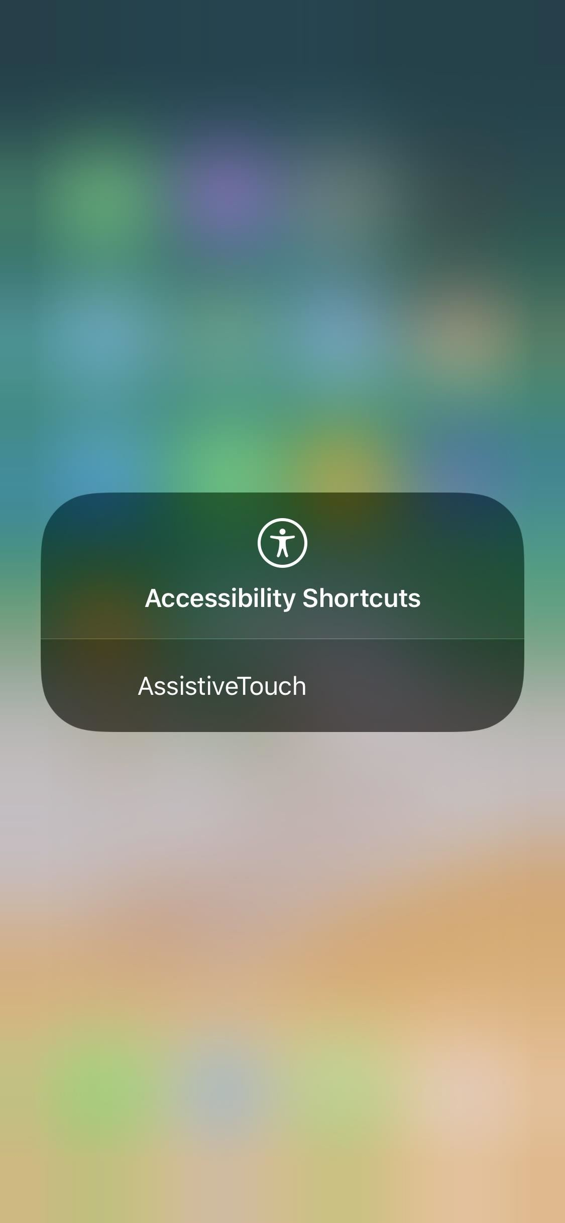 How to Add a Virtual Home Button to iPhone X with AssistiveTouch