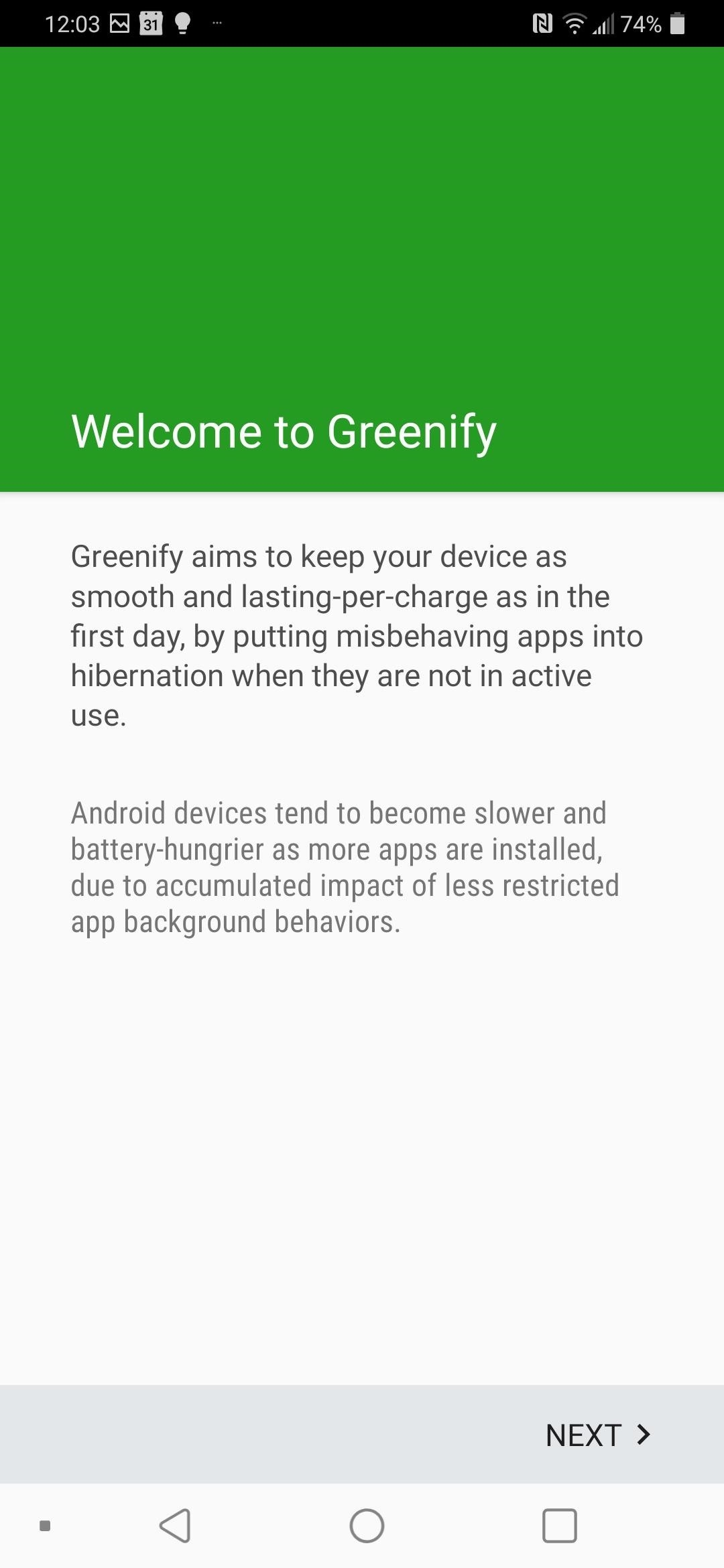 How to Set Up Greenify Without Root & Save Battery Life on Any Android