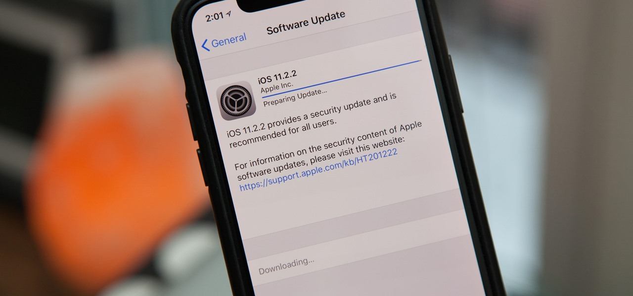 iOS 11.2.2 Released with Security Patch for Spectre Chip Vulnerability