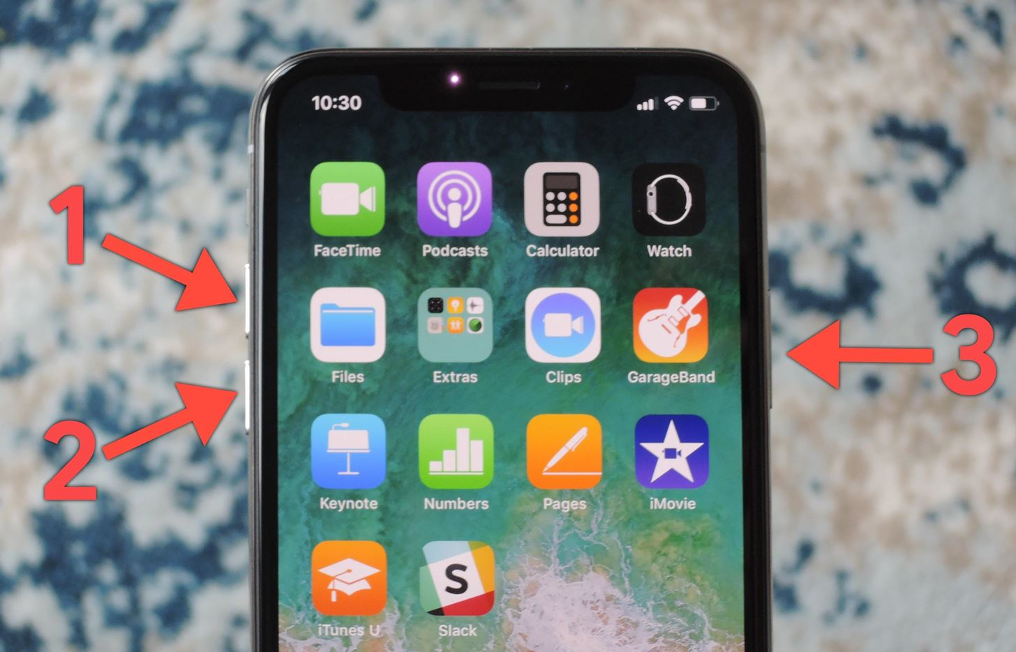 How to Force Restart the iPhone X When It's Acting Up