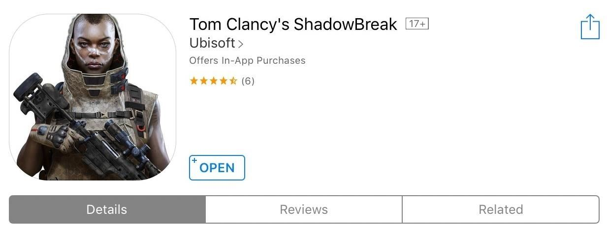 Play Tom Clancy's ShadowBreak on Your iPhone or Android Before Its Official Release