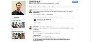 Edit and customize your Google+ profile page