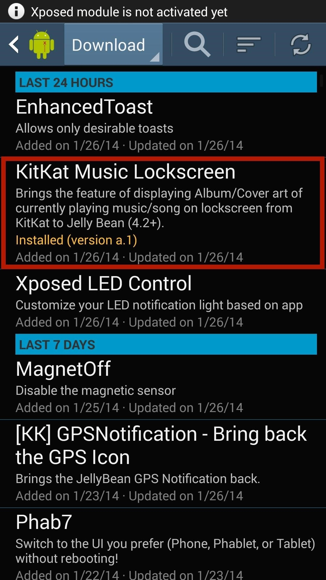 How to Get a KitKat-Style Music Lock Screen on Your Samsung Galaxy Note 3