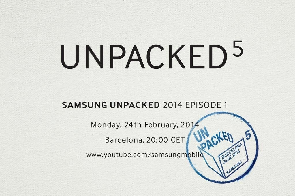 Unpacked! Samsung Teases Galaxy S5 Reveal Date