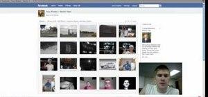 Upload photos to Facebook
