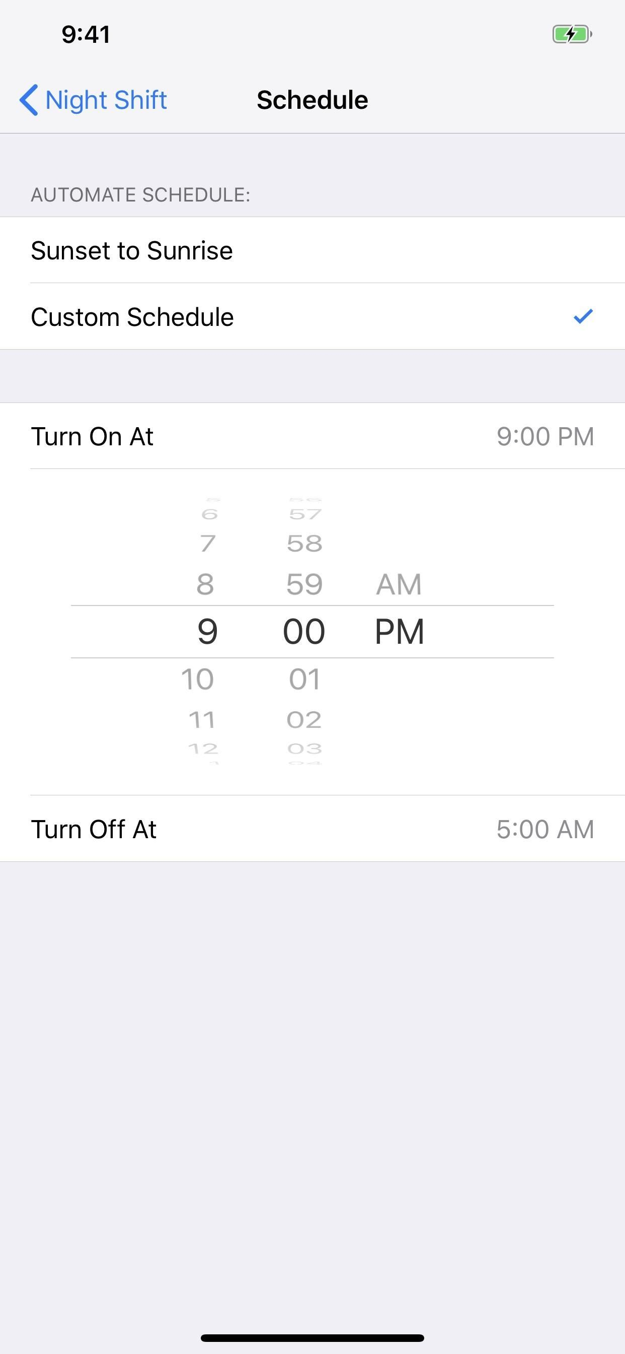 To enable night shift mode to prevent your iPhone from staying awake at night