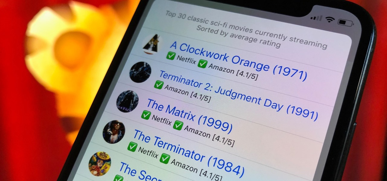How To: The Easiest Way to Find Good Movies to Watch on Netflix & Prime Video on Your iPhone