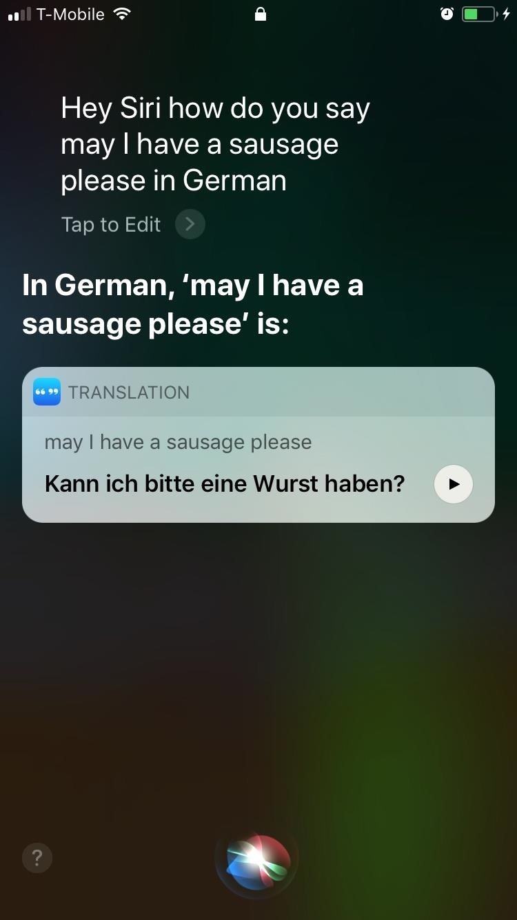 How to Get Siri to Automatically Translate Languages for You in iOS 11