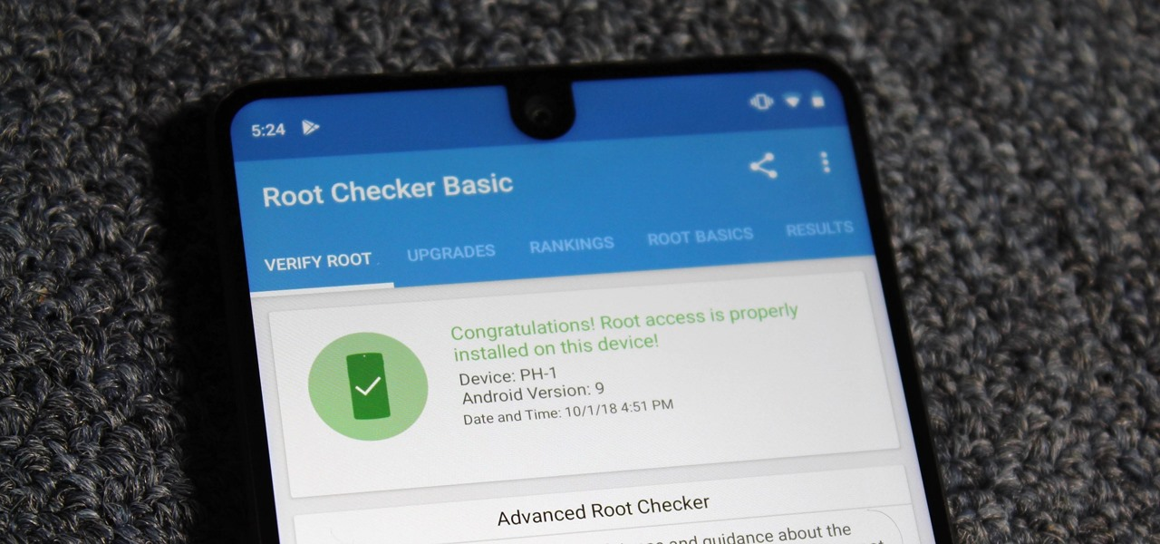 Root Your Essential PH-1 with Magisk