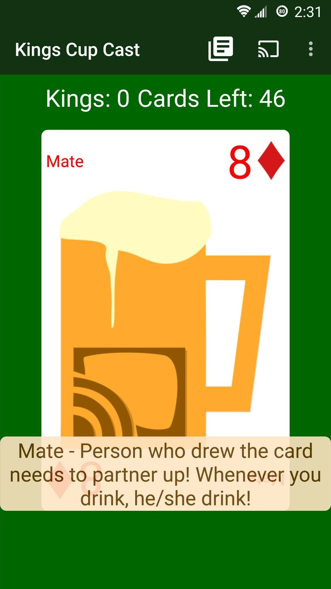 Drinking Games: Android Edition