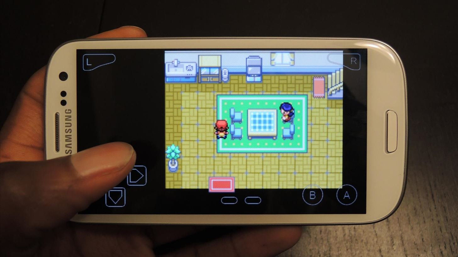 How to Play Pokémon FireRed & Other Game Boy Advance Games on Your Samsung Galaxy S3