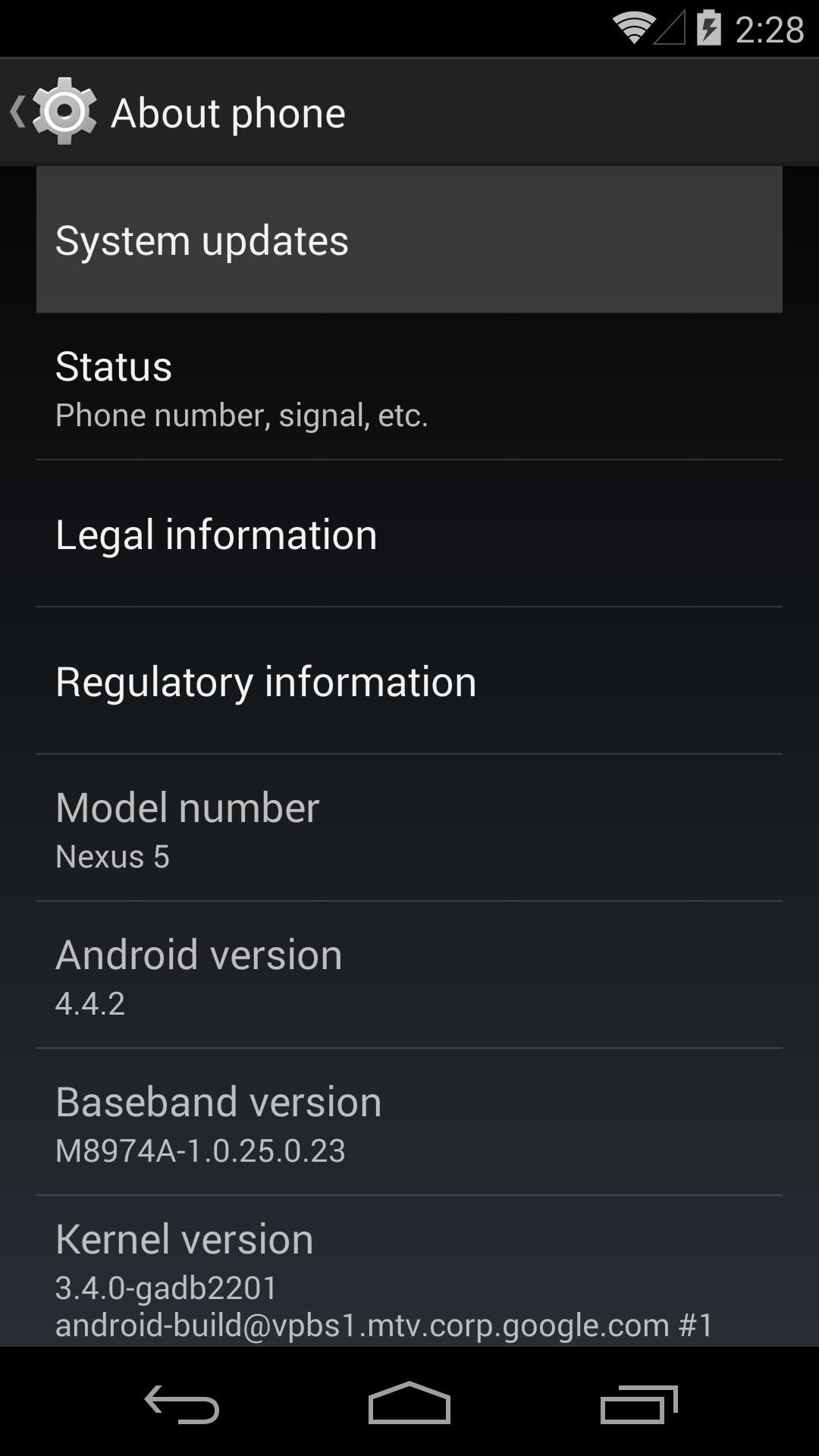 Android 4.4.3 Update Rolling Out Now for the Nexus 5