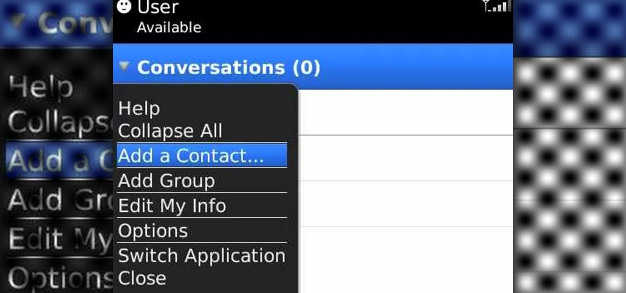 how to restore your blackberry messenger contacts