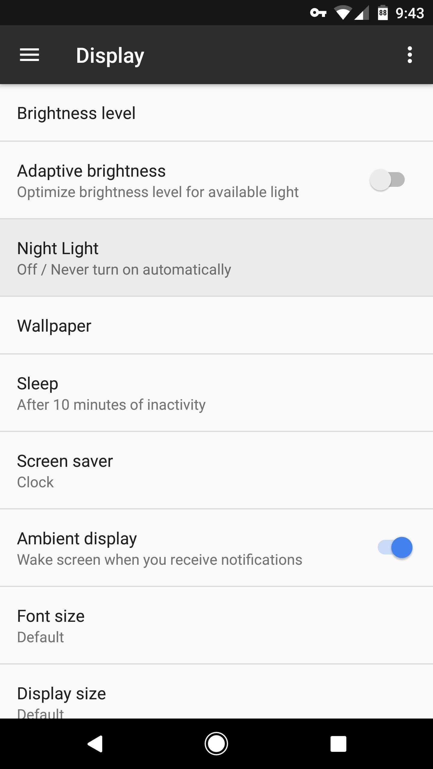 How to Turn on Google Pixel's 'Night Light' Function to Sleep Better