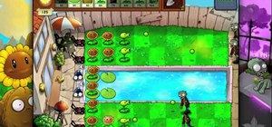 Beat level 3-8 of Plants vs Zombies HD for the iPad