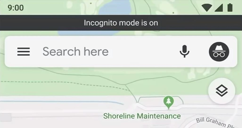 Coming soon: Use incognito mode on Google Maps to keep your location search and navigation completely private.