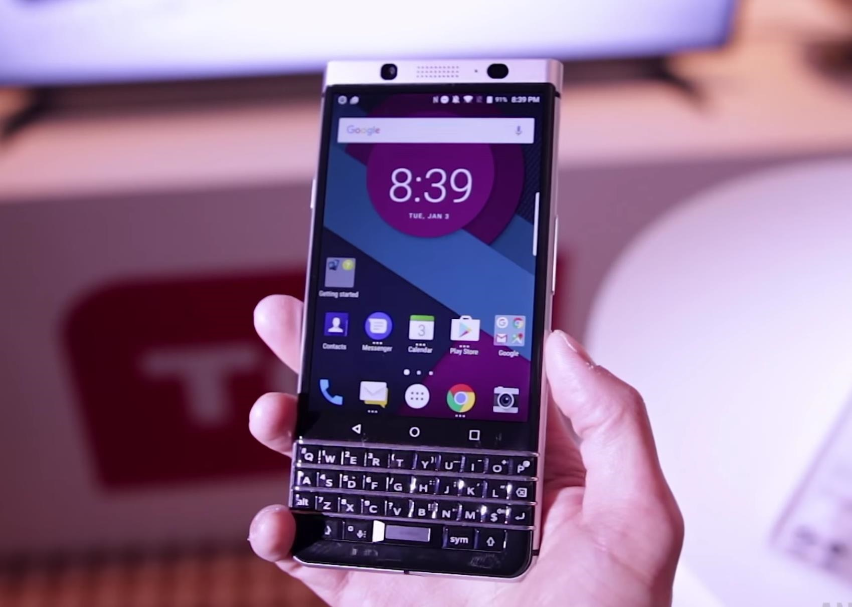BlackBerry Unveils the KeyOne—A New Security-Focused Phone