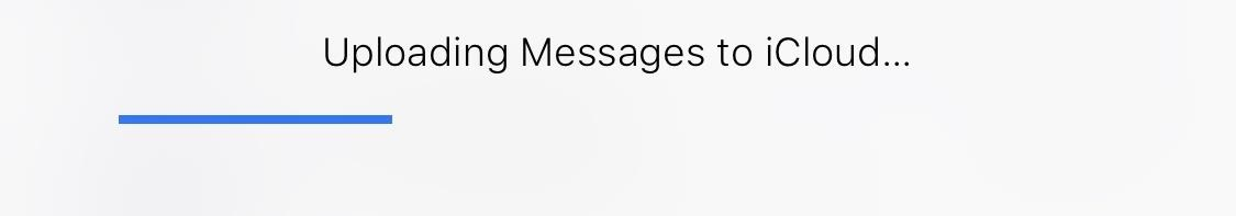 How to Sync All Your Messages with iCloud in iOS 11 4 « iOS